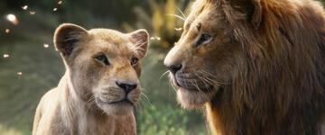 Nala und Simba in Der König der Löwen