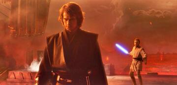 Anakin Skywalker und Obi-Wan Kenobi in Die Rache der Sith