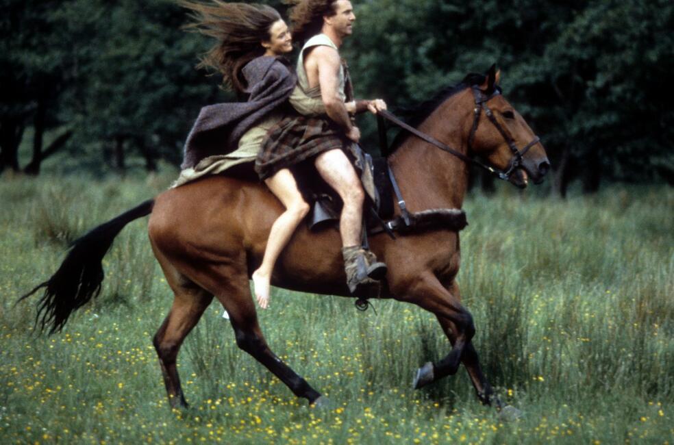 Braveheart mit Mel Gibson und Catherine McCormack