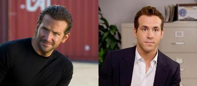 Bradley Cooper in Das A-Team, Ryan Reynolds in Selbst ist die Braut
