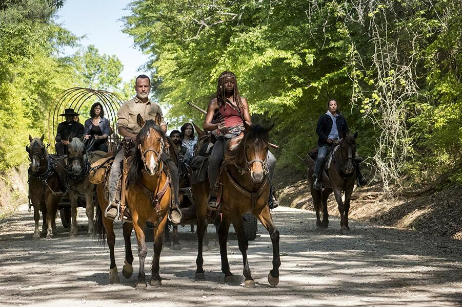 The Walking Dead - Staffel 9 mit Andrew Lincoln, Danai Gurira, Pollyanna McIntosh, Seth Gilliam und Alanna Masterson