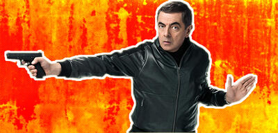 Rowan Atkinson in Johnny English 3