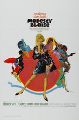 Modesty Blaise - Die tödliche Lady - Poster