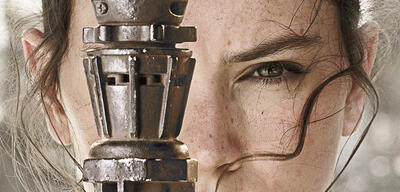 Daisy Ridley als Rey in Star Wars 7