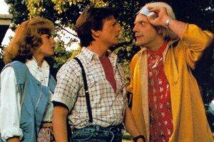 Zurück in die Zukunft mit Michael J. Fox und Christopher Lloyd