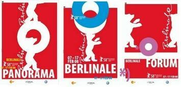 Bild zu:  Hauptplakate der Berlinale 2008