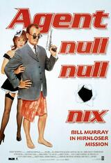 Agent Null Null Nix - Bill Murray in Hirnloser Mission - Poster