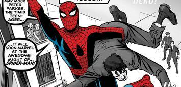 Bild zu:  Amazing Spider-Man-Variant Cover nach Entwürfen von Steve Ditko