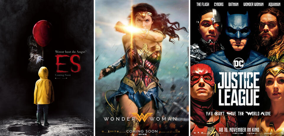 Es / Wonder Woman / Justice League
