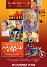 Best Exotic Marigold Hotel - Poster
