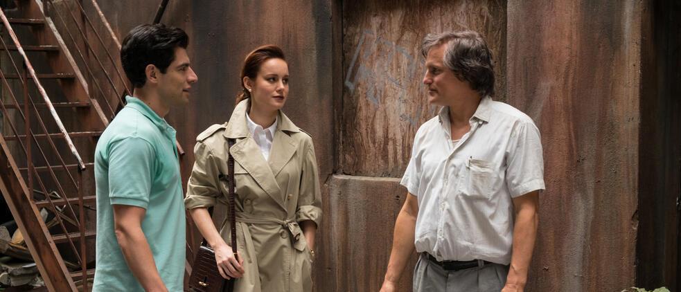 Schloss aus Glas mit Woody Harrelson, Brie Larson und Max Greenfield