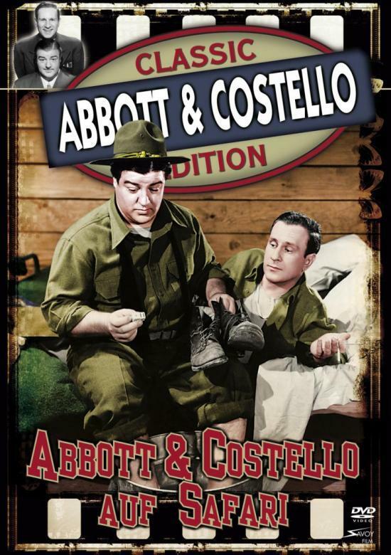Abbott und Costello auf Safari