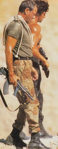 Rambo III mit Sylvester Stallone und Richard Crenna