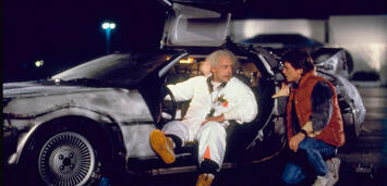 Bild zu:  Doc und Marty McFly inZurück in die Zukunft