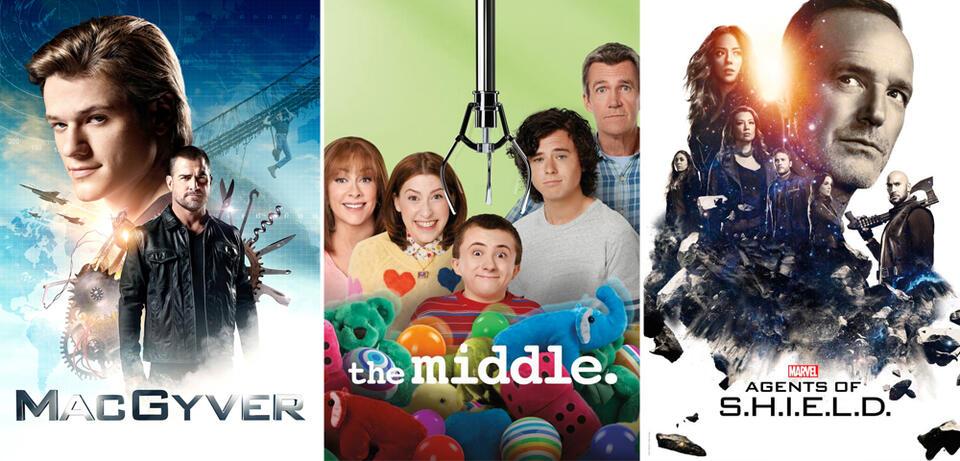 Freut euch im Juli auf MacGyver, The Middle und Marvel's Agents of S.H.I.E.L.D.