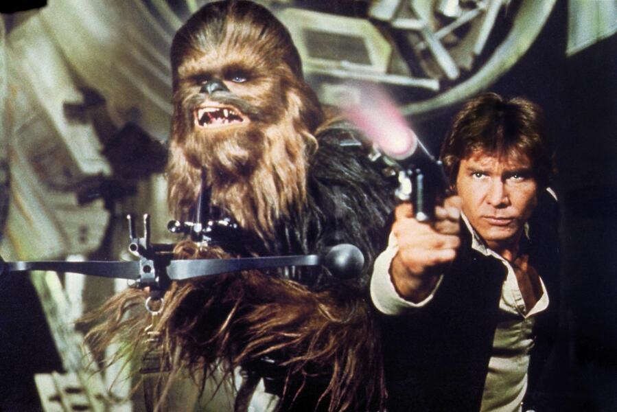 Peter Mayhew in Star Wars IV - Eine neue Hoffnung