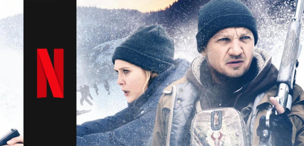 Wind River mit Elizabeth Olsen und Jeremy Renner