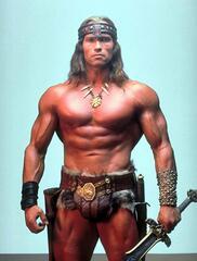 Arnold Schwarzenegger in Conan der Barbar