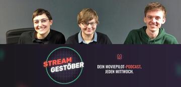 Podcast-Team der neusten Folge: Andrea, Jenny und Matthias