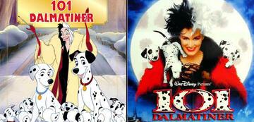 Disneys 101 Dalmatiner: Zeichentrickfilm und Live-Action-Remake