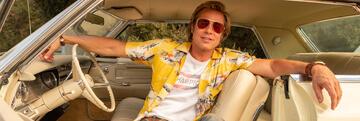 Brad Pitt als Stuntman Cliff Booth in OUATIH
