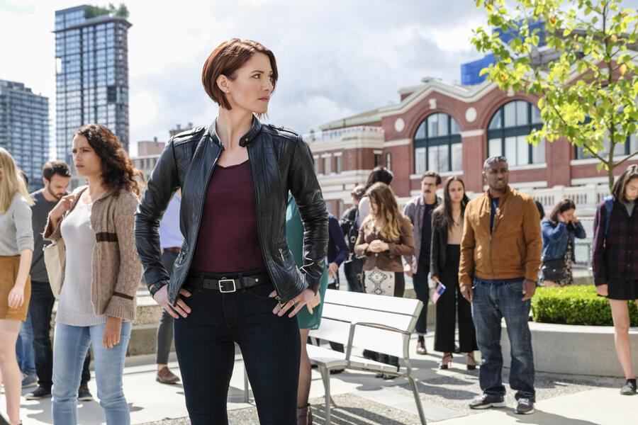 Supergirl Staffel 3 mit Chyler Leigh