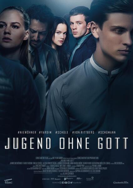 Jugend ohne Gott mit Emilia Schüle, Fahri Yardim, Jannis Niewöhner, Jannik Schümann und Alicia von Rittberg