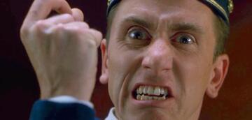 """Zur Weißglut getrieben: Tim Roth als Ted in """"Four Rooms"""" (1995)"""