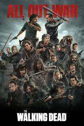 The Walking Dead Staffel 8 - Poster