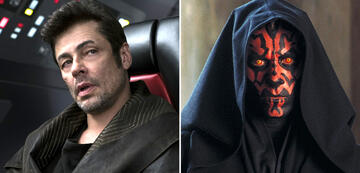 Benicio del Toro in Star Wars 8/Darth Maul
