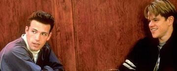 Ben Affleck und Matt Damon in Good Will Hunting