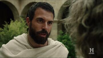 Landry (Tom Cullen) ist die zentrale Figur in Knightfall.