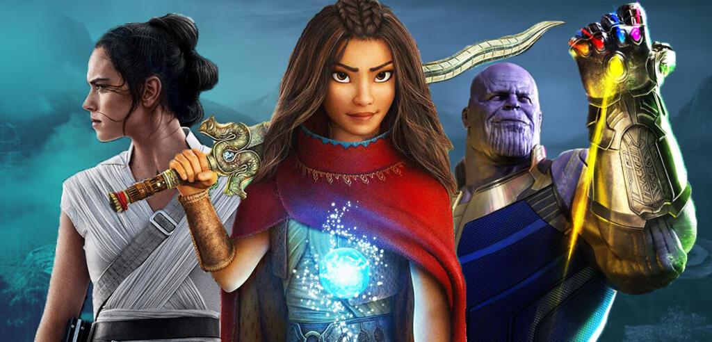 Was haben Raya und der letzte Drache, Star Wars und die Avengers gemeinsam?