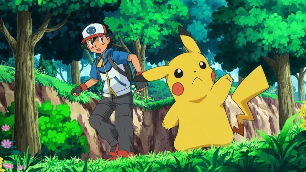 Pokémon S01e01 Clip Ash Sieht Ho Oh English