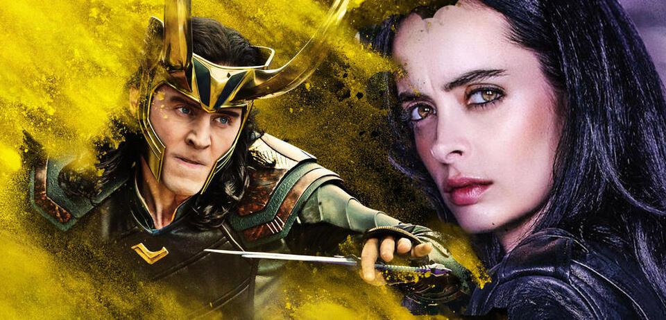 Loki und Jessica Jones