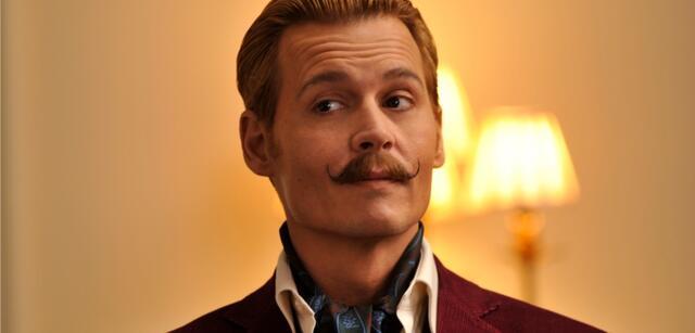 Johnny Depp alsMortdecai - Der Teilzeitgauner
