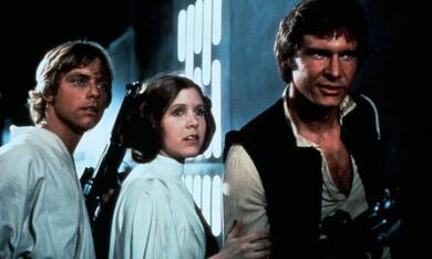 Krieg der Sterne mit Harrison Ford, Mark Hamill und Carrie Fisher - Bild 1