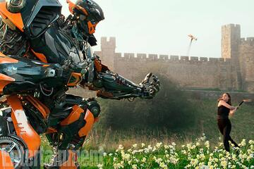 Hot Rod in Transformers 5: The Last Knight