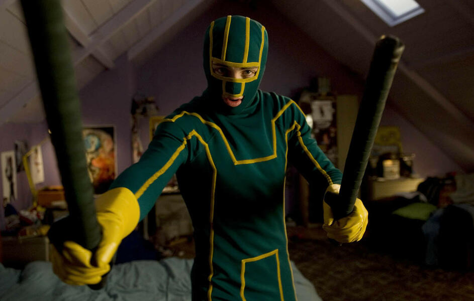 Kick-Ass mit Aaron Taylor-Johnson
