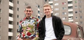 Bild zu:  Wladimir Kaminer und Matthias Schweighöfer präsentieren 2012 Russendisko