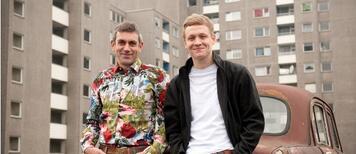 Wladimir Kaminer und Matthias Schweighöfer präsentieren 2012 Russendisko