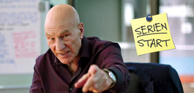 Patrick Stewart in Blunt Talk