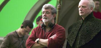 Bild zu:  George Lucas am Set