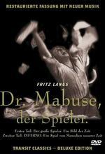 Dr. Mabuse, der Spieler - Ein Bild der Zeit Poster