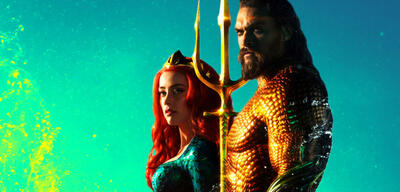 Jason Momoa und Amber Heard in Aquaman