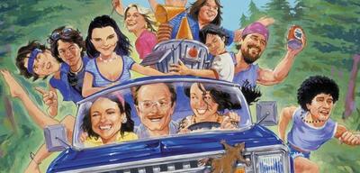 Der gezeichnete Cast von Wet Hot American Summer