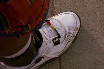 Buggin Outs Schuhe erreichten durch den Film Kultstatus und sind unter Sammlern heiß begehrt