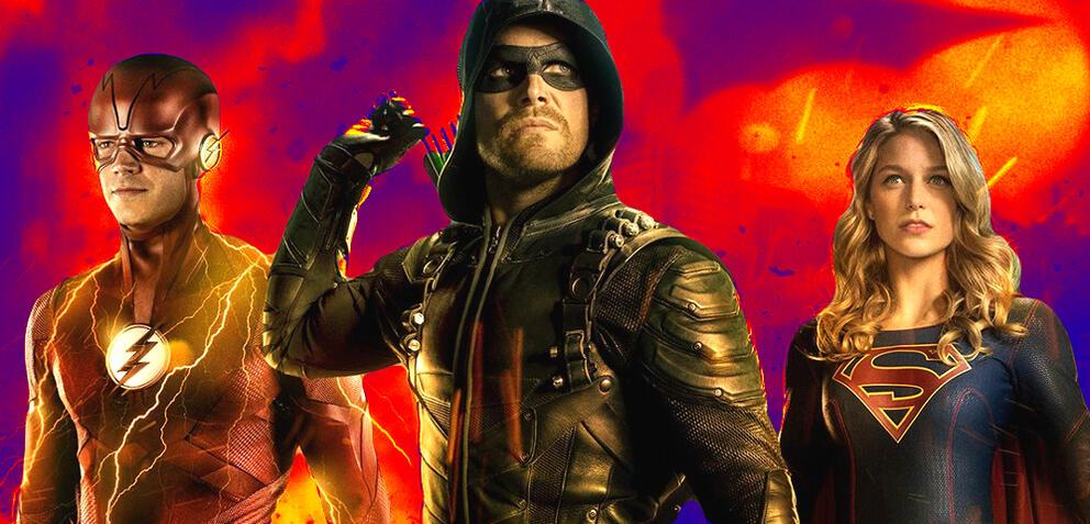 Die Helden des Arrowverse