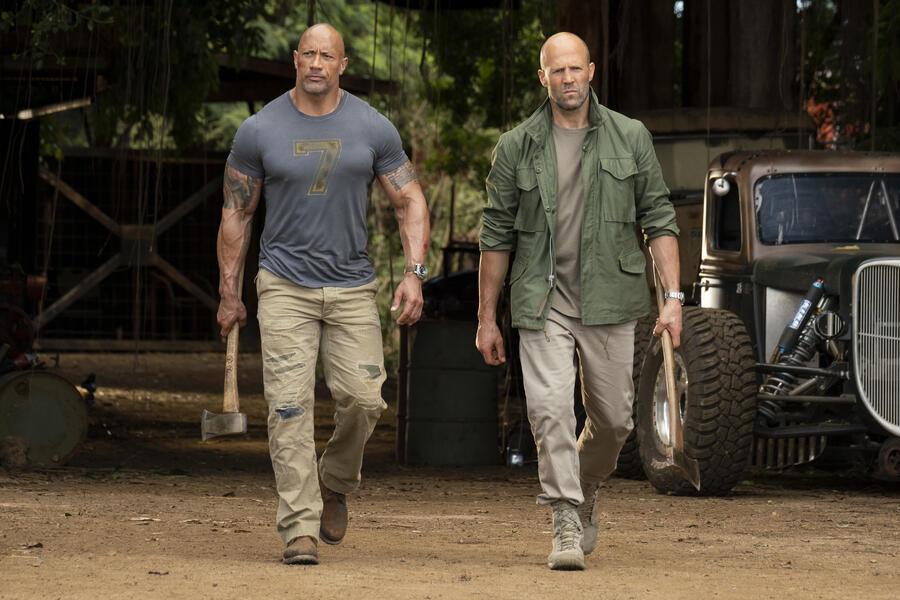 Fast & Furious: Hobbs & Shaw mit Jason Statham und Dwayne Johnson