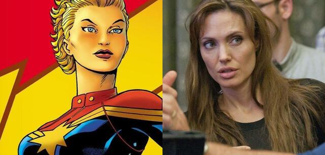 Wunsch-Kandidatin für Captain Marvel: Angelina Jolie